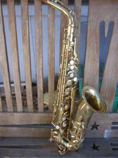 French LeBlanc Vito Special Alto Sax