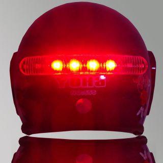 Wireless Motorcycle Helmet Brake Turn Signal LED Light Kits Free