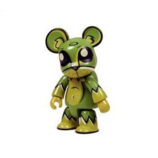 Joe Ledbetter 2 5 Toxic Swamp Bear Green Mini Vinyl Toy Figure No Box