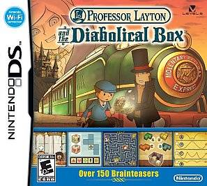 Professor Layton and The Diabolical Box Nintendo DS 2009 045496740399