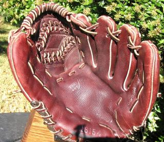 USA Ted Williams Vintage Baseball Glove Gold Stamping See