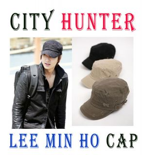 City Hunter Lee MIN HO Cap Military Cap New