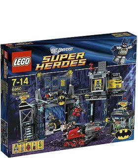 LEGO Super Heroes Batman BatCave 6860 Bat Cave Set no minifigs or
