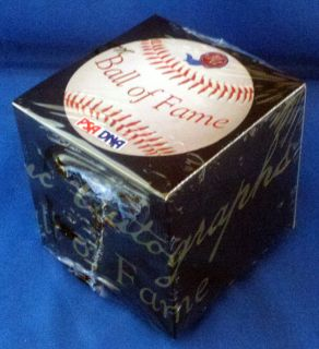 Historic Autographs Ball of Fame box Signed baseball PSA 10 ?? mantle