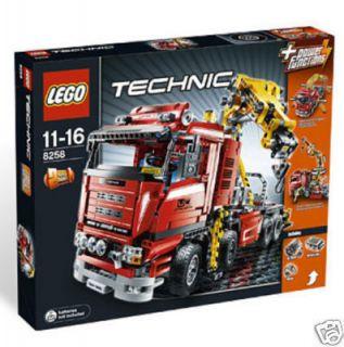 Lego   8258   TECHNIC   Crane Truck   NEW Sealed