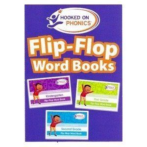 Hooked on Phonics Flip Flop Learn to Read Word Books for K 1St 2nd