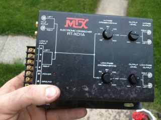 RT X01A RTX01A 2 Channel Hi Low Electronic Crossover Cross Over X Over