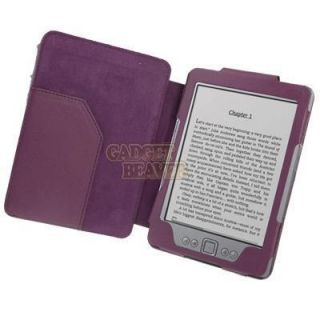 Leather Case Cover Wallet For  Kindle 4 4th WiFi Generation 2011