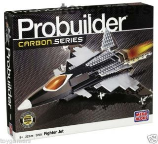 Mega Bloks Pro Builder Carbon Series Fighter Jet 3269
