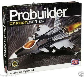 Mega Bloks Pro Builder Carbon Series Fighter Jet 3269