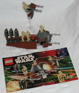 Lego Star Wars Set 7654 Droids Battle Pack w Instructions D