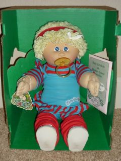 Cabbage Patch Kid HTF MIB Lemon Loops & Aerobic Outfit