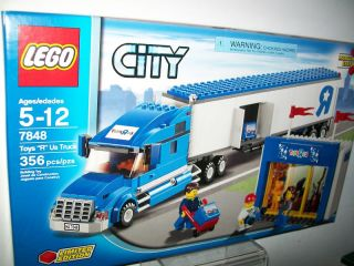 Lego City Toys R US Truck Limited Edition 7848 356 Pcs
