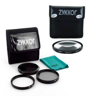 77mm CPL UV Cap Filter Kit Macro 10 Lens Filter for Digital Cameras