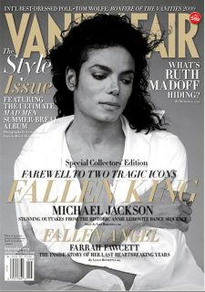 michael Jackson Dead Special Collectors Edition Vanity Fair 9 2009