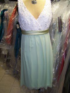 Lela Rose LR 110 Bridesmaid Dress Ivory Honeydew 8