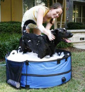 Dirty Dog Portable Pet Dog Grooming Bath Tub 36 Inch