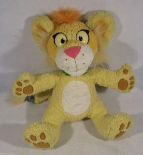 2000 Mattel Between The Lions Talking Leona 16 Plush Toy Doll Fisher
