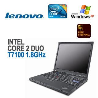 IBM Lenovo ThinkPad T61 Laptop 14LCD C2D T7100 2GB XP Pro
