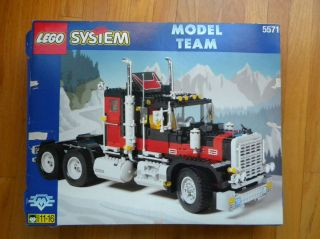 Lego Model eam 5571 Vinage RARE ruck Ca Big Rig 1996 EXC in Box