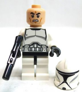 LEGO Star Wars Clone Trooper Minifig (75000) Newest Version Minifigure