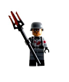 Lego Custom Minifig WWII German Zombie Infantry Soldier New