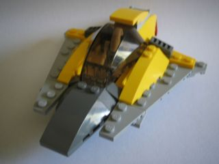 Custom Lego Star Wars Clone Assault SHIP with Battle Droid