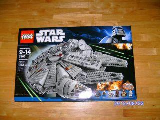 Lego Star Wars 7965 Millennium Falcon 1254 PCS Building Block Toy Play