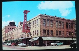 1950s Leonards Department Store Fort Worth Texas