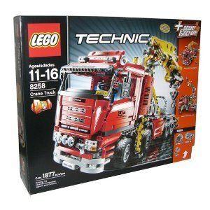 Lego Technic Crane Truck 8258 673419133258
