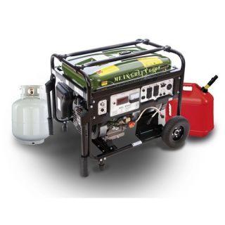 Multi Power 6000 Watt Dual Fuel Generator MP5500DF