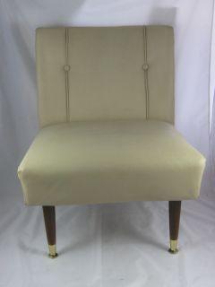 Retro Original Furniture Chair Beige Lounge Les Brown Co Inc