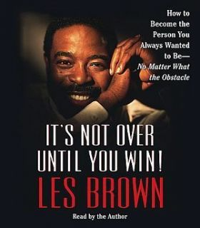 New 2 CD Its not Over Until You Win Les Brown