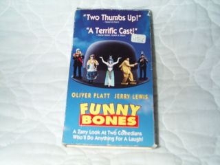 Funny Bones VHS Jerry Lewis Oliver Platt Reed Comedy 786936470635