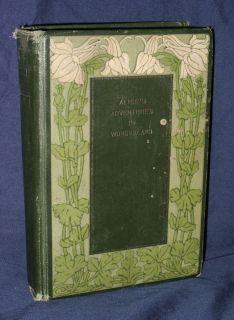 Adventures in Wonderland by Lewis Carroll c 1900s HC Tenniel Altemus