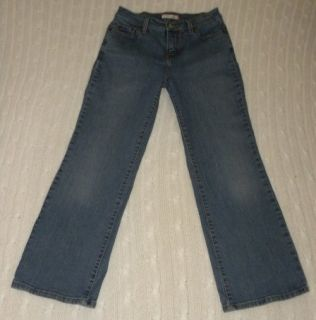 Levi's Perfectly Slimming Boot Cut 512 Jeans 10 Petite