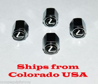 Lexus Is ES GS LS RX HS Ct Wheel Tire Valve Stem Caps