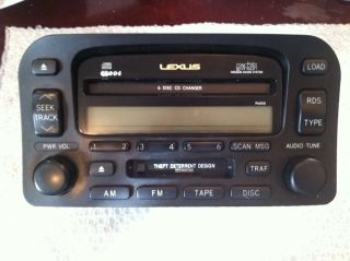 LEXUS LX470 MARK LEVINSON RADIO STEREO AUDIO WARRANTY REMANUFACTURED