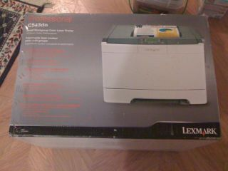 Lexmark C543DN Laser Color Printer