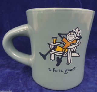 Life Is Good Coffee Mug Cup Lawn Chair do What You Like Home Blue Free