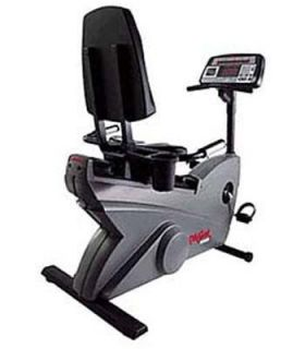 Life Fitness Life Cycle 9100 Dove Tail Recumbent Bike