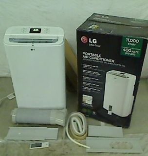 LG Electronics 11 000 BTU Portable Air Conditioner Dehumidifier Remote