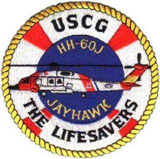 Coast Guard Jayhawk HH 60J The Lifesavers Patch