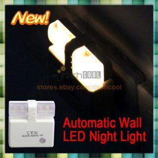 Light Control Energy Saving Automatic Light Nightlight Wall LED Night