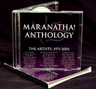 Anthology CD BOB BENNETT MUSTARD SEED FAITH LESLIE PHILLIPS LOVE SONG