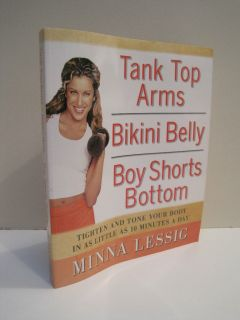 Tank Top Arms Bikini Belly Boy Shorts Bottom by Minna Lessig
