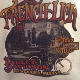 French Lick Harley Davidson Hoodie