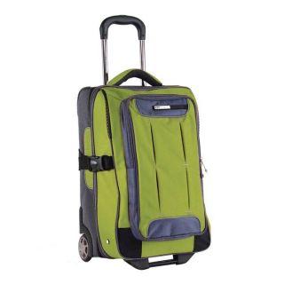 21 Rolling Carry on Luggage Travel Wheeled Upright Suitcase New
