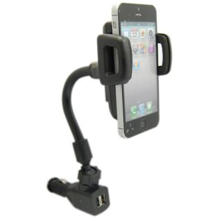 Universal Car Charger Cigarette Lighter Mount Holder for Mobile Phone