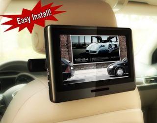 Lincoln MKX MKT 9 Headrest DVD Player Rear Entertainment Self Install